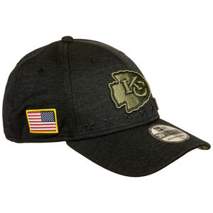 NFL Kansas City Chiefs 39Thirty Salute to Service Cap, schwarz / gold, zoom bei OUTFITTER Online