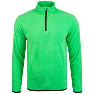 Fleece Team Trainingsshirt Herren, grün / schwarz, zoom bei OUTFITTER Online