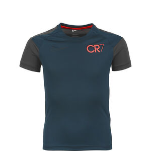 CR7 Dri-Fit Trainingsshirt Kinder, dunkelblau / anthrazit, zoom bei OUTFITTER Online