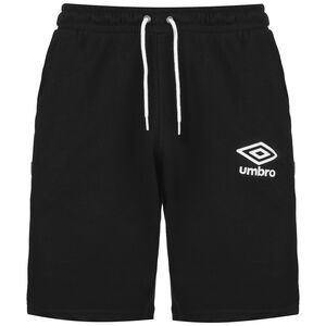 Knee Length Fleece Trainingsshort Herren, schwarz, zoom bei OUTFITTER Online
