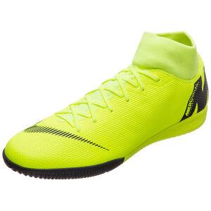 Mercurial SuperflyX VI Academy Indoor Fußballschuh Herren, neongelb / schwarz, zoom bei OUTFITTER Online