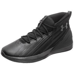 Lockdown 3 Basketballschuh Herren, schwarz / grau, zoom bei OUTFITTER Online