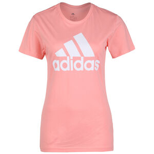 Must Haves Badge Of Sport Trainingsshirt Damen, rosa / weiß, zoom bei OUTFITTER Online