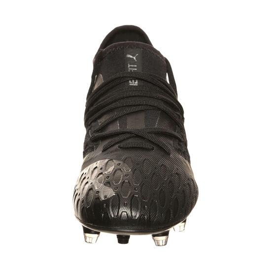 Future 5.3 NETFIT FG/AG Fußballschuh Kinder, schwarz / grau, zoom bei OUTFITTER Online