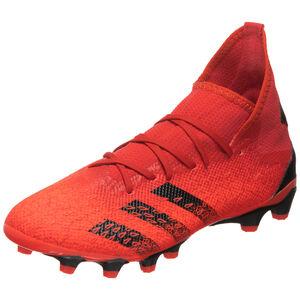 Predator Freak .3 MG Fußballschuh Herren, rot / schwarz, zoom bei OUTFITTER Online