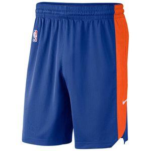 NBA New York Knicks Basketballshort Herren, blau / orange, zoom bei OUTFITTER Online