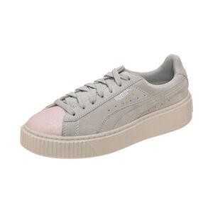 Suede Platform Glam Sneaker Kinder, Grau, zoom bei OUTFITTER Online