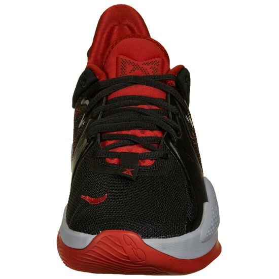 PG 5 Basketballschuh Herren, schwarz / rot, zoom bei OUTFITTER Online