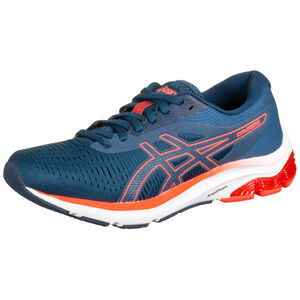 Gel-Pulse 12 Laufschuh Damen, blau / neonrot, zoom bei OUTFITTER Online