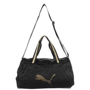 Essentials Sporttasche, gold / schwarz, zoom bei OUTFITTER Online