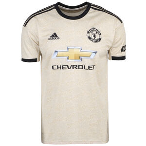 Manchester United Trikot Away 2019/2020 Herren, beige / schwarz, zoom bei OUTFITTER Online