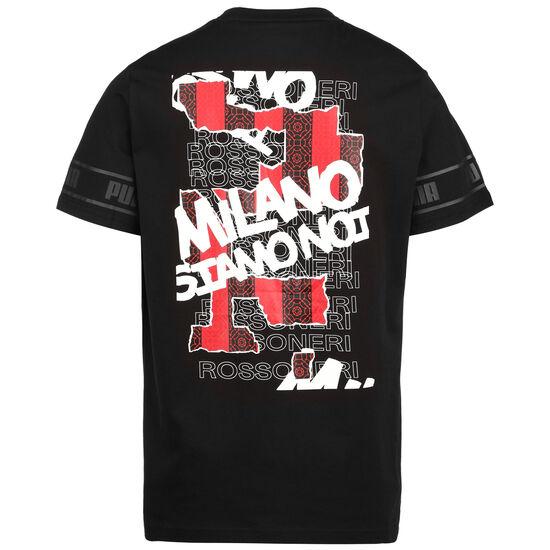 AC Mailand FtblCulture II T-Shirt Herren, schwarz / rot, zoom bei OUTFITTER Online