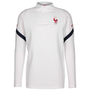 Frankreich VaporKnit Strike Drill Sweatshirt EM 2021 Herren, weiß / rot, zoom bei OUTFITTER Online