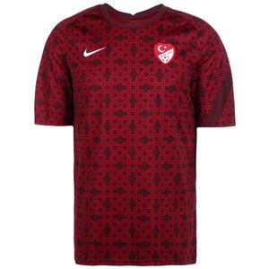 Türkei Breathe Trainingsshirt EM 2021 Herren, dunkelrot / weiß, zoom bei OUTFITTER Online