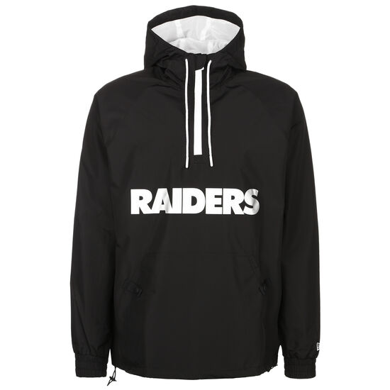 NFL Overlap Logo Las Vegas Raiders Windbreaker Herren, schwarz / weiß, zoom bei OUTFITTER Online