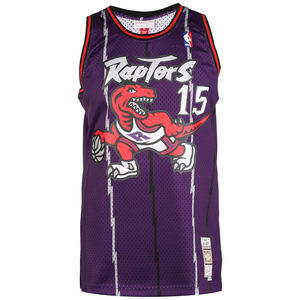 Toronto Raptors Vince Carter Trikot Herren, lila / rot, zoom bei OUTFITTER Online