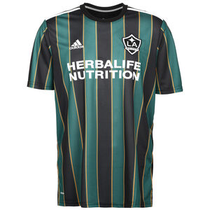 LA Galaxy Trikot Away 2021 Herren, schwarz / grün, zoom bei OUTFITTER Online