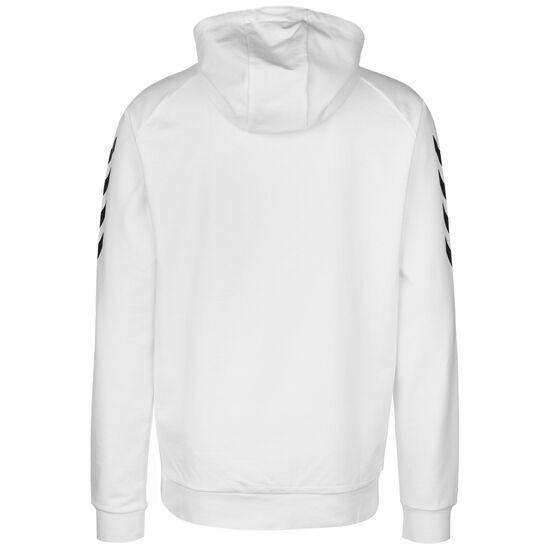 Hmlgo Cotton Kapuzenjacke Herren, weiß / schwarz, zoom bei OUTFITTER Online