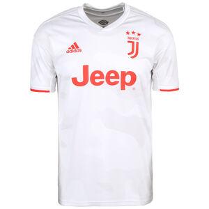 Juventus Turin Trikot Away 2019/2020 Herren, weiß / rot, zoom bei OUTFITTER Online