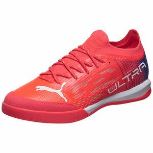 ULTRA 1.3 Pro Indoor Fußballschuh, neonrot / weiß, zoom bei OUTFITTER Online