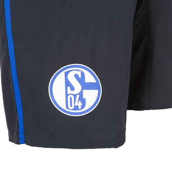 FC Schalke 04 Long Woven Trainingsshort Herren, schwarz / blau, zoom bei OUTFITTER Online