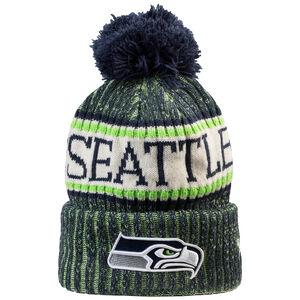 NFL Seattle Seahawks Sideline Bobble Knit Beanie, , zoom bei OUTFITTER Online