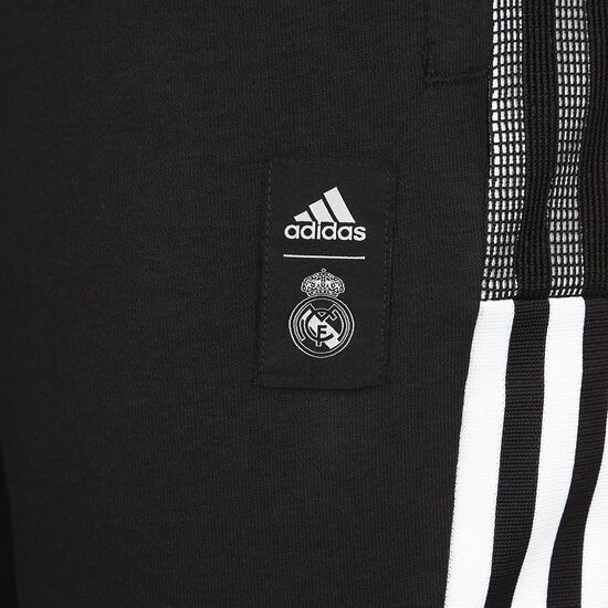 Real Madrid Chinese New Year Trainingshose Herren, schwarz / weiß, zoom bei OUTFITTER Online