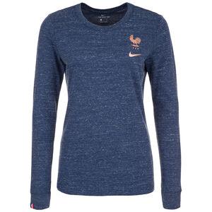 Frankreich FFF Travel Trainingsshirt Damen, dunkelblau, zoom bei OUTFITTER Online
