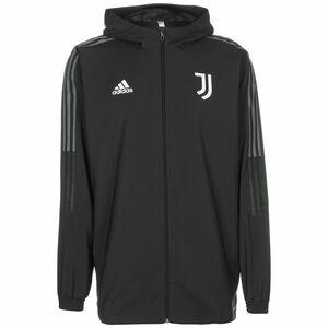 Juventus Turin Präsentationsjacke Herren, dunkelgrau / grau, zoom bei OUTFITTER Online