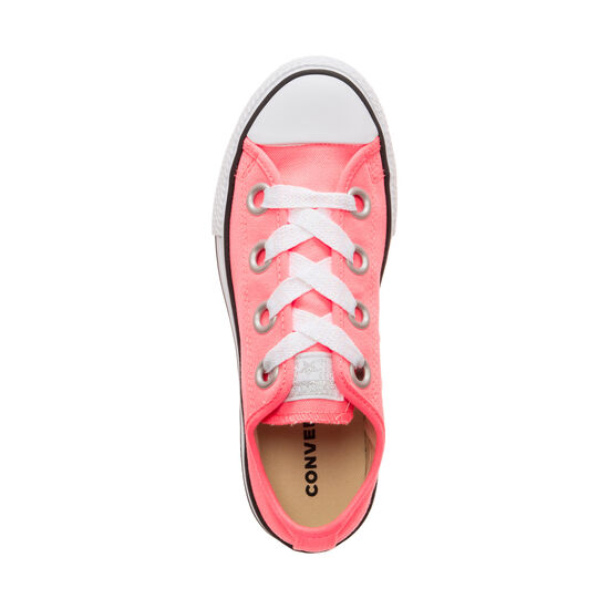 Chuck Taylor All Star Big Eyelet OX Sneaker Kinder, korall / weiß, zoom bei OUTFITTER Online