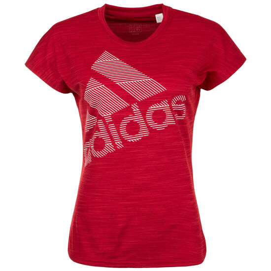 new images of on feet shots of classic adidas Performance Badge of Sport Trainingsshirt Damen bei ...