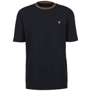 Tipped Ringer T-Shirt Herren, dunkelblau, zoom bei OUTFITTER Online