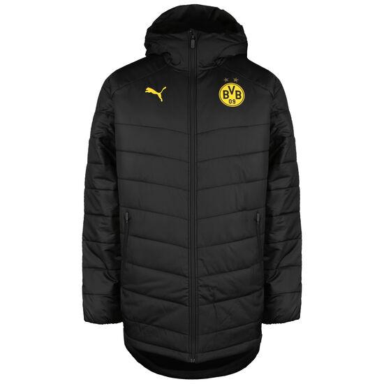 Borussia Dortmund Bench Winterjacke Herren, schwarz / gelb, zoom bei OUTFITTER Online
