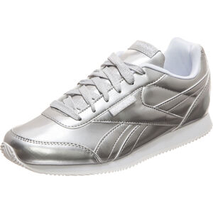 Royal Classic Jog 2 Sneaker Kinder, silber / weiß, zoom bei OUTFITTER Online