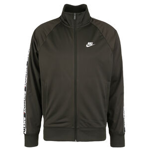 Just Do It Tape Sweatjacke Herren, dunkelgrün, zoom bei OUTFITTER Online