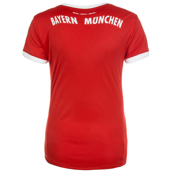 FC Bayern München Trikot Home 2017/2018 Damen, Rot, zoom bei OUTFITTER Online