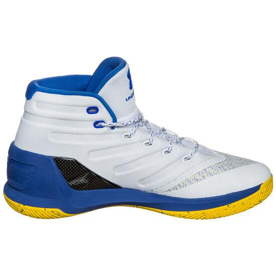 Curry 3 Basketballschuh Herren, Weiß, zoom bei OUTFITTER Online