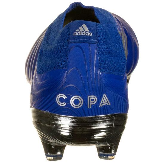 Copa 20+ FG Fußballschuh Herren, blau / silber, zoom bei OUTFITTER Online