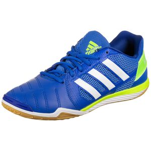 Top Sala Fußballschuh Herren, blau / neongrün, zoom bei OUTFITTER Online