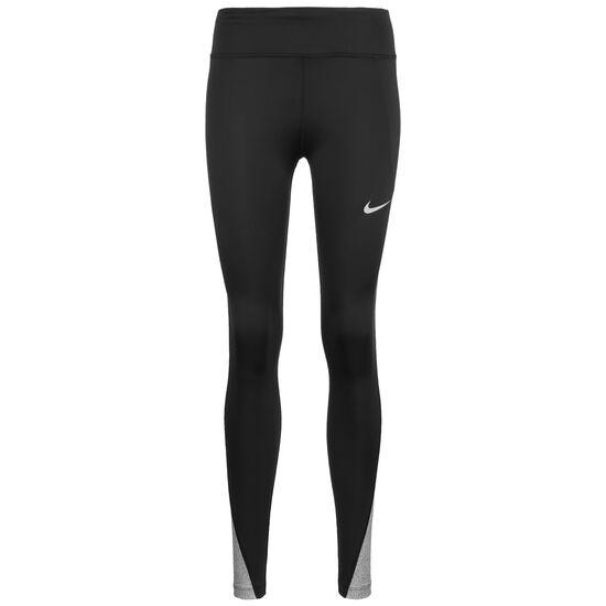 Fast Runway Lauftight Damen, schwarz / silber, zoom bei OUTFITTER Online