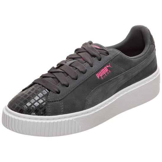 Suede Platform Street 2 Sneaker Damen, Grau, zoom bei OUTFITTER Online