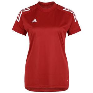 Condivo 20 Trainingsshirt Damen, rot / weiß, zoom bei OUTFITTER Online