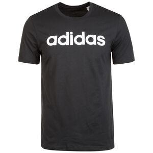 Essentials Linear Logo Trainingsshirt Herren, schwarz / weiß, zoom bei OUTFITTER Online