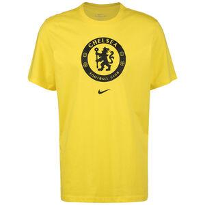 FC Chelsea Evergreen Crest T-Shirt Herren, gelb / schwarz, zoom bei OUTFITTER Online