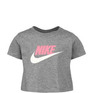 Crop Futura T-Shirt Kinder, grau / rosa, zoom bei OUTFITTER Online