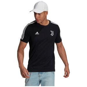 Juventus Turin 3-Streifen T-Shirt Herren, schwarz / weiß, zoom bei OUTFITTER Online