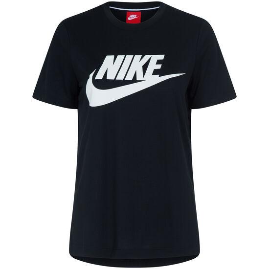 Essential T-Shirt Damen, schwarz / weiß, zoom bei OUTFITTER Online