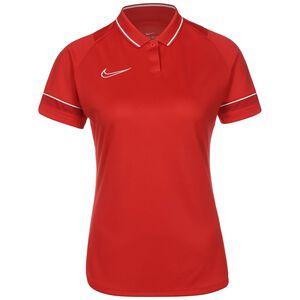 Academy 21 Dry Poloshirt Damen, rot / weiß, zoom bei OUTFITTER Online