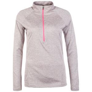 HeatGear Tech Twist Trainingsshirt Damen, grau, zoom bei OUTFITTER Online
