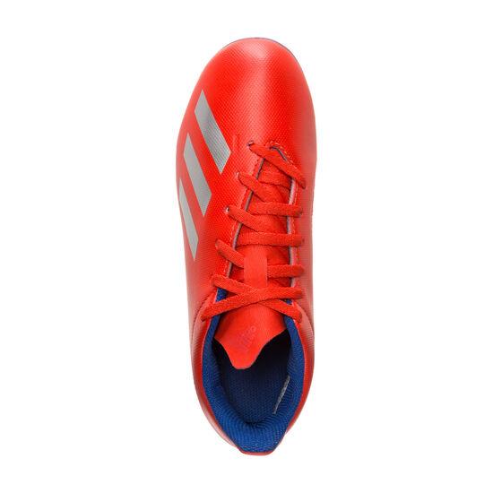 X 18.4 FxG Fußballschuh Kinder, rot / silber, zoom bei OUTFITTER Online